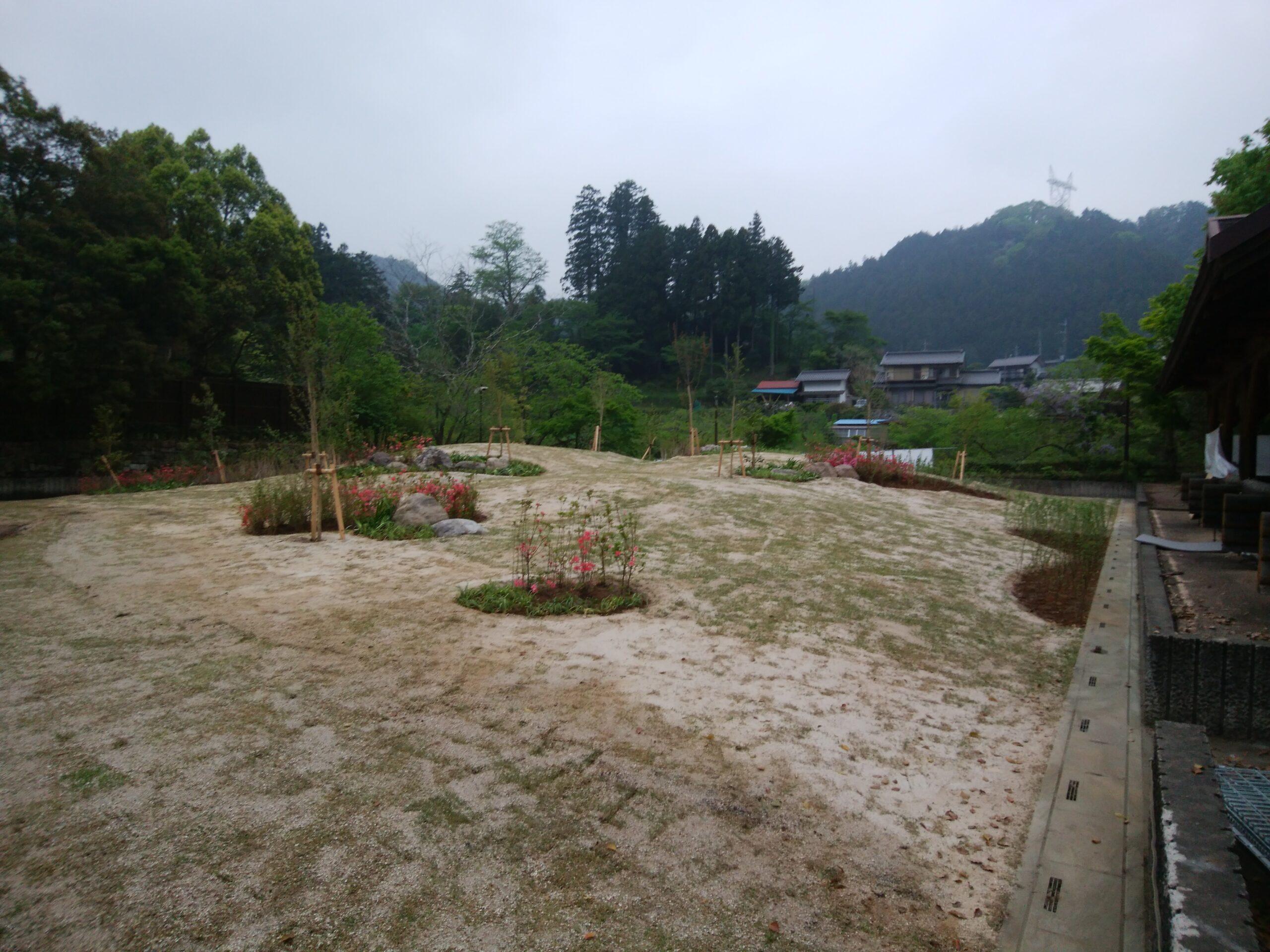 休暇村奥武蔵宿泊棟増築工事(庭園改修)完了